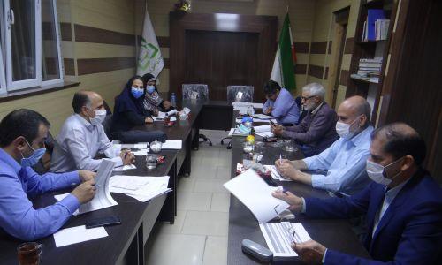 اولین جلسه بررسی لایحه بودجه سال۱۴۰۰شهرداری فاضل آباد در شورای شهر
