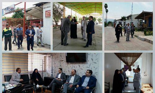 بازدید مدیرکل محترم دفتر امور شهری و شوراها از شهرداری فاضل آباد